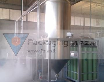 Pacakging MPZ - Aseptic Tank
